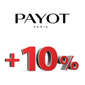 +10% на продукцію Payot